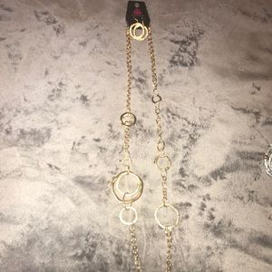 Paparazzi - Gold Rings Necklace & Earrings